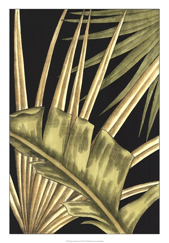 Rustic Tropical Leaves III Poster by Ethan Harper for $56.25 CAD