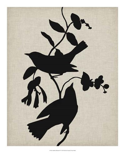 Audubon Silhouette IV Poster by Vision Studio for $50.00 CAD