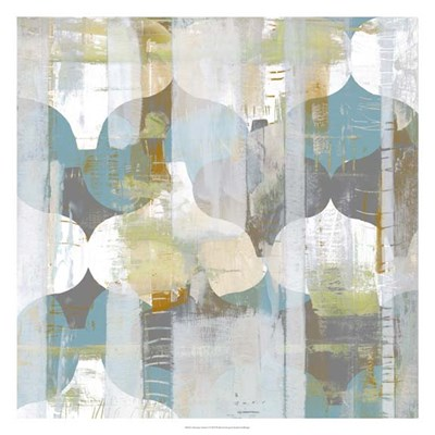 Arabesque Abstract I Poster by Jennifer Goldberger for $87.50 CAD