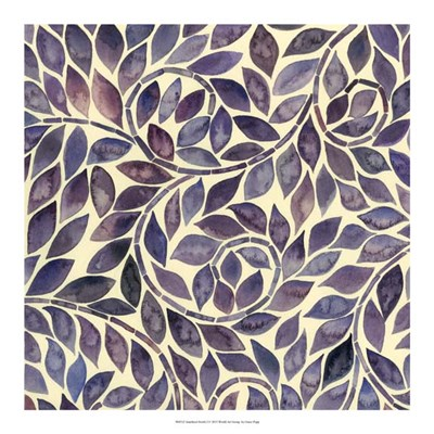 Amethyst Swirls I Poster by Grace Popp for $37.50 CAD
