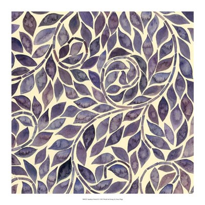 Amethyst Swirls II Poster by Grace Popp for $37.50 CAD