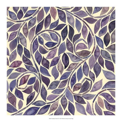 Amethyst Swirls IV Poster by Grace Popp for $37.50 CAD