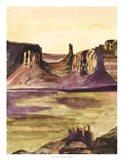 Desert Diptych I
