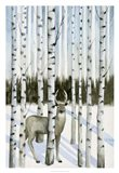 Deer in Snowfall I