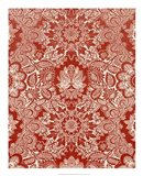 Baroque Tapestry in Red II