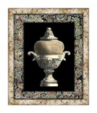 Urn on Marbleized Background II