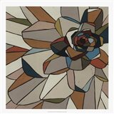 Stained Glass Floral I