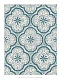Ornamental Pattern in Teal I