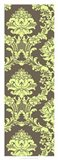 Vivid Damask In Green I
