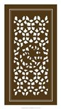 Shoji Screen In Brown II