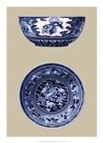 Porcelain in Blue and White I