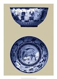 Porcelain in Blue and White II