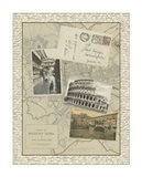 Vintage Map of Rome