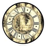 Aged Elegance Clock