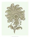 Celadon Floral Motif III