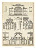 Vintage Architect's Plan I