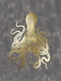 Gold Foil Octopus II