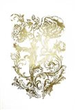 Gold Foil Flora & Filigree