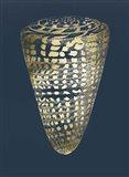 Gold Foil Shell I on Cobalt