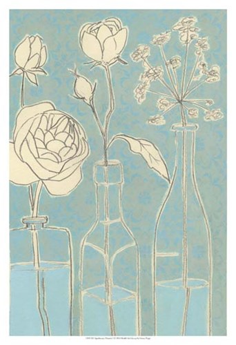 Apothecary Flowers I Poster by Grace Popp for $21.25 CAD