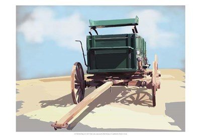 Bold Wagon II Poster by Emily Kalina for $21.25 CAD