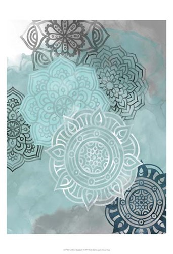 Ink Blot Mandala II Poster by Grace Popp for $21.25 CAD
