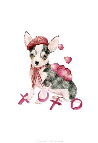 Valentine Puppy III Poster by Melissa Wang for $21.25 CAD
