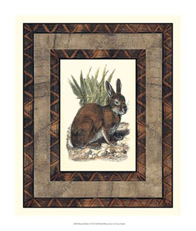 Rustic Rabbit Poster by Vision Studio for $33.75 CAD