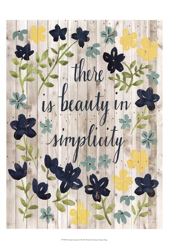 Cottage Inspiration I Poster by Grace Popp for $21.25 CAD