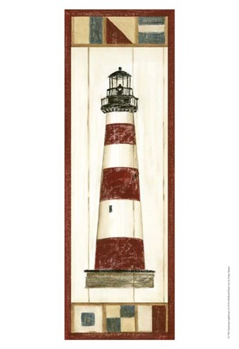 Americana Lighthouse I Poster by Ethan Harper for $21.25 CAD