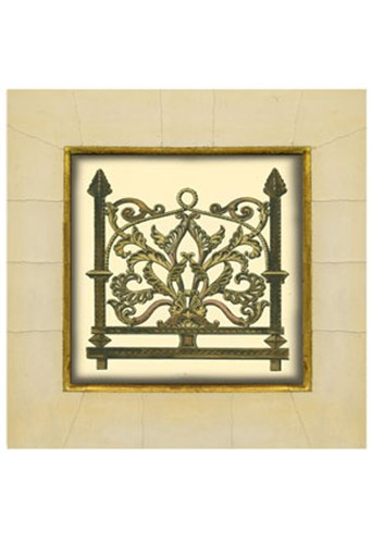 Gate in Gesso I (H) Poster by Unknown for $21.25 CAD