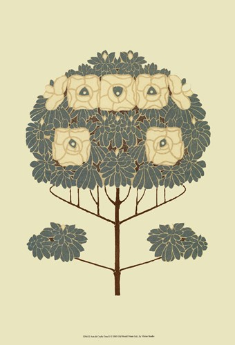 Arts and Crafts Tree II Poster by Vision Studio for $21.25 CAD