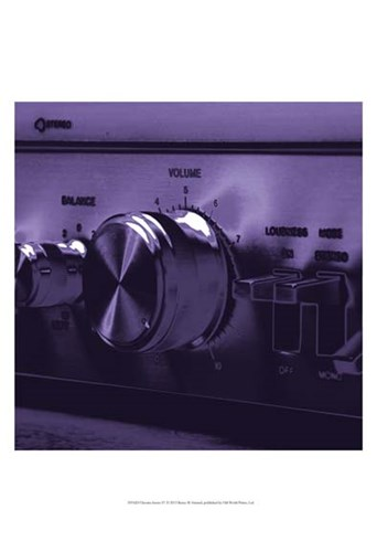 Chroma Stereo IV Poster by Renee Stramel for $21.25 CAD