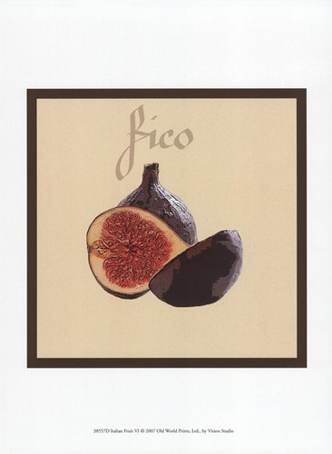 Italian Fruit VI Poster by Unknown for $13.75 CAD