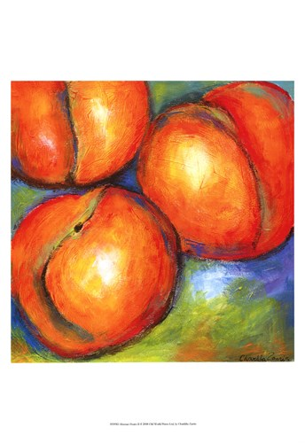 Abstract Fruits II Poster by Chariklia Zarris for $21.25 CAD