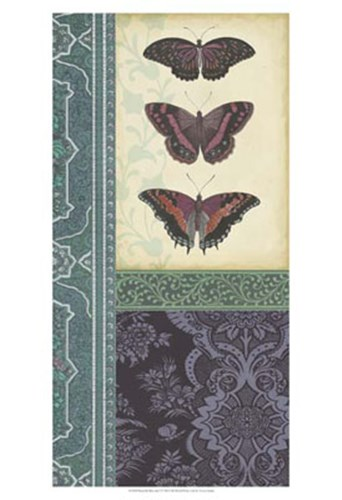 Butterfly Brocade I Poster by Vision Studio for $21.25 CAD