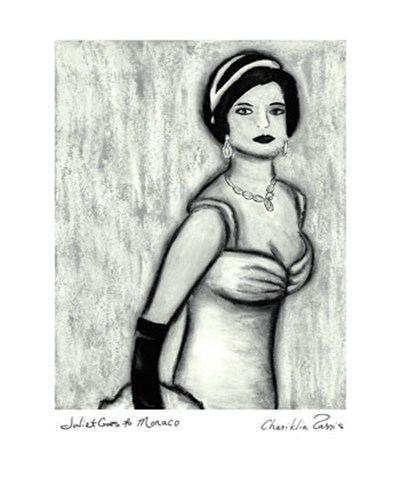 Juliet goes to Monaco Poster by Chariklia Zarris for $21.25 CAD