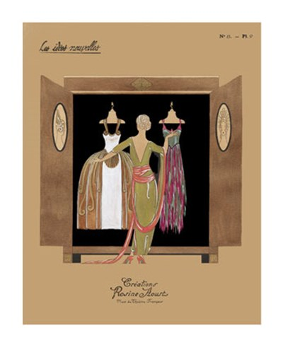 Armoire de Kate II Poster by Vision Studio for $21.25 CAD