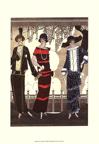 Art Deco Elegance II Poster by Vision studio for $21.25 CAD