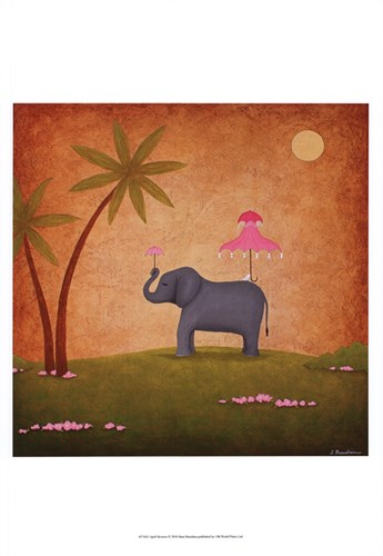 April Showers Poster by Shari Beaubien for $21.25 CAD