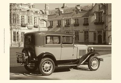 Vintage Cars I Poster by Vision Studio for $21.25 CAD