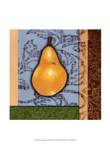 Fruit Tapestry III Poster by Vision Studio for $13.75 CAD