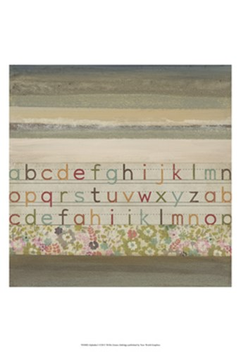 Alphabet I Poster by W Green-Aldridge for $21.25 CAD