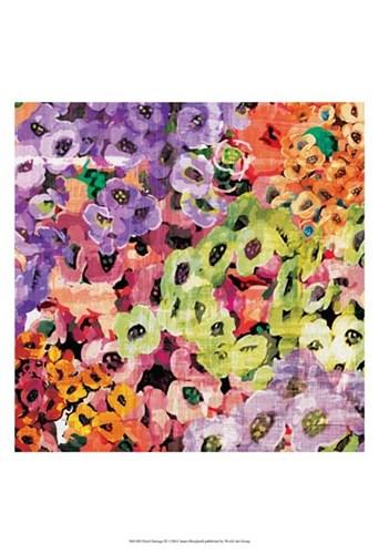 Floral Barrage III Poster by James Burghardt for $21.25 CAD