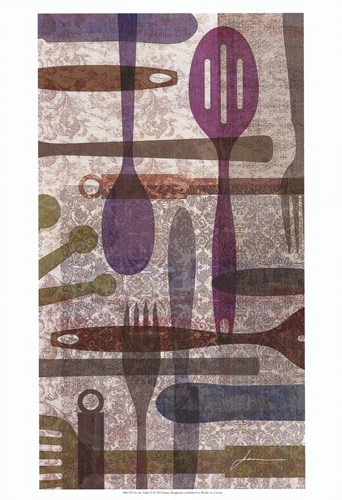 On the Table II Poster by James Burghardt for $21.25 CAD