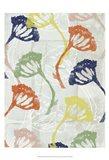 Stamped Floral II