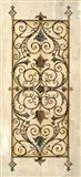 Crackled Verdigris Panels I