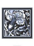 Blue & White Floral Motif I