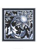Blue & White Floral Motif II