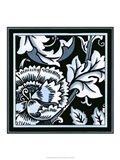 Blue & White Floral Motif III